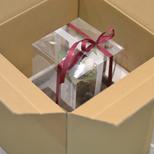 プリザーブドギフト安心安全な梱包の画像